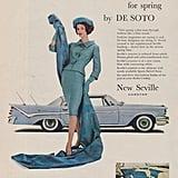 Even vintage cars dressed for Spring.