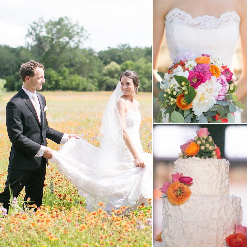 Beautiful Outdoor Texas Wedding