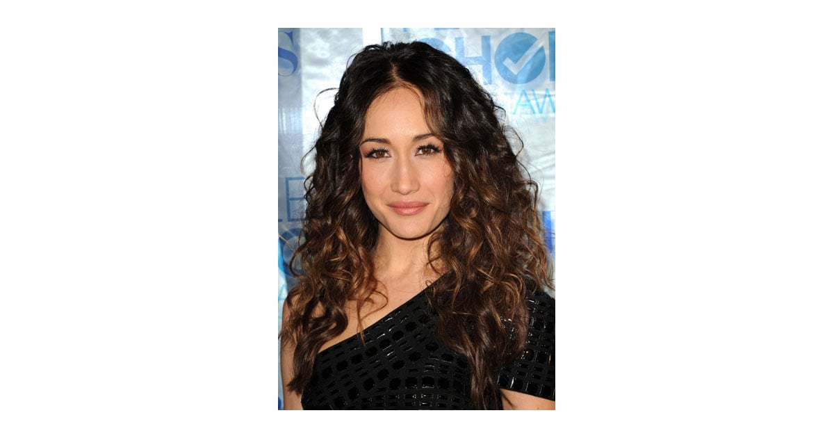 Maggie Q Hairstyle: Maggie Q At 2011 People's Choice Awards
