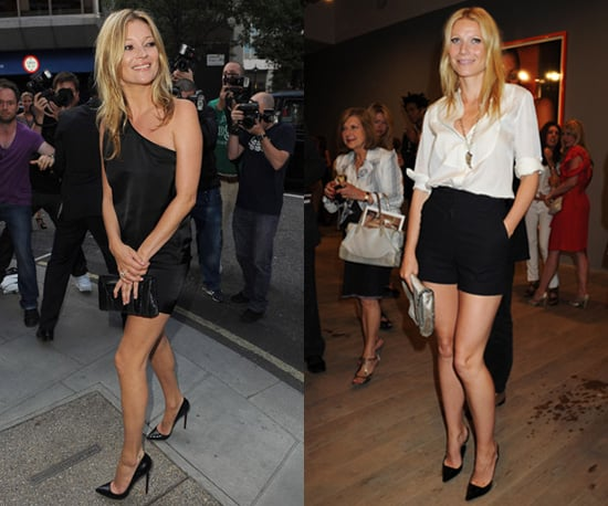 Gwyneth Paltrow et Kate Moss relancent la mode des talons pointus