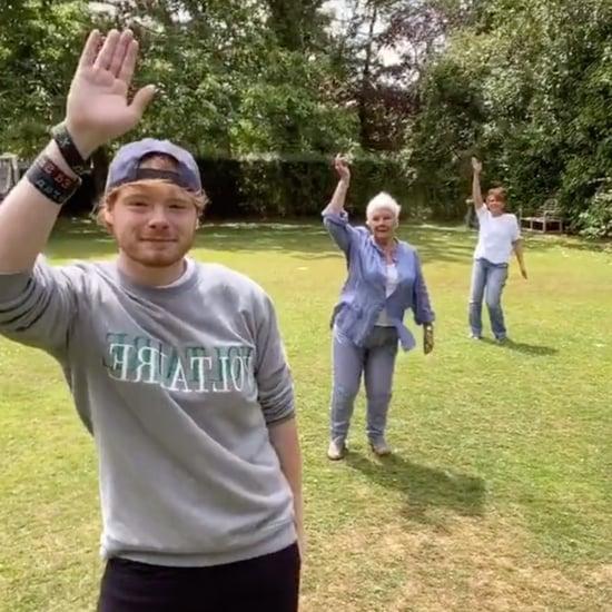 Judi Dench Dancing With Family on TikTok Video