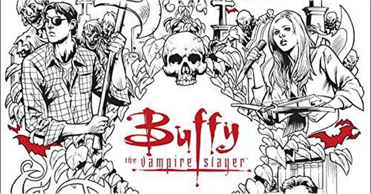 Buffy the Vampire Slayer Coloring Book | POPSUGAR Tech