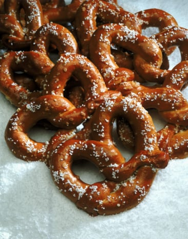 Munch On A Pretzel