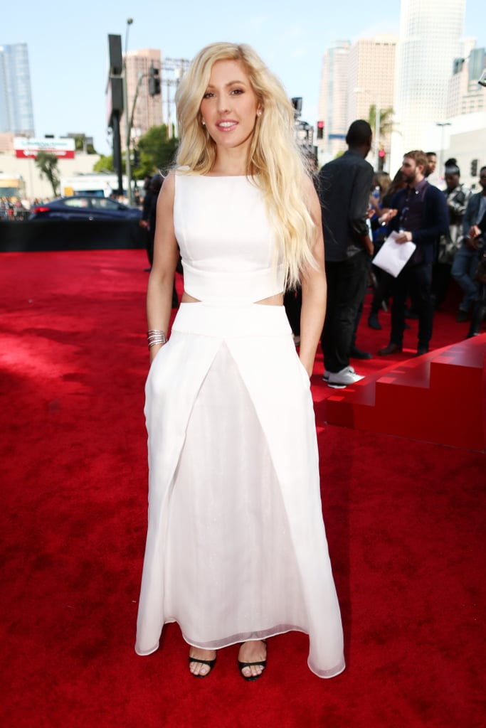 Ellie Goulding at the 2014 MTV Movie Awards