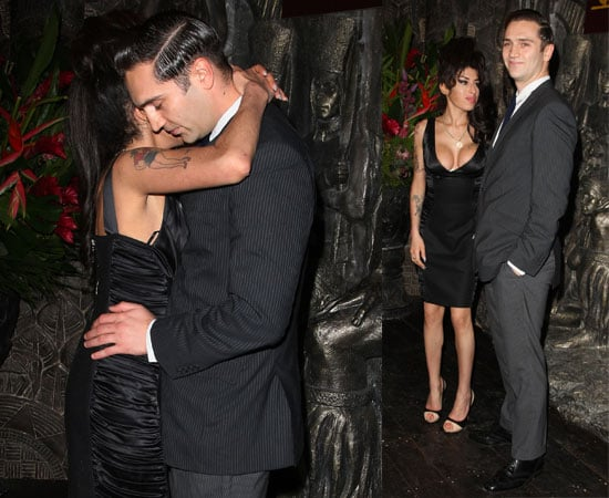 Pictures of Amy Winehouse and Reg Traviss Out At Camden Bar Launch