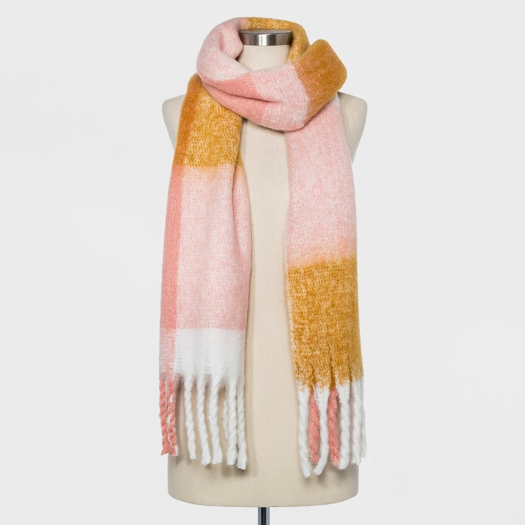 Women's Brushed Woven Blanket Scarf