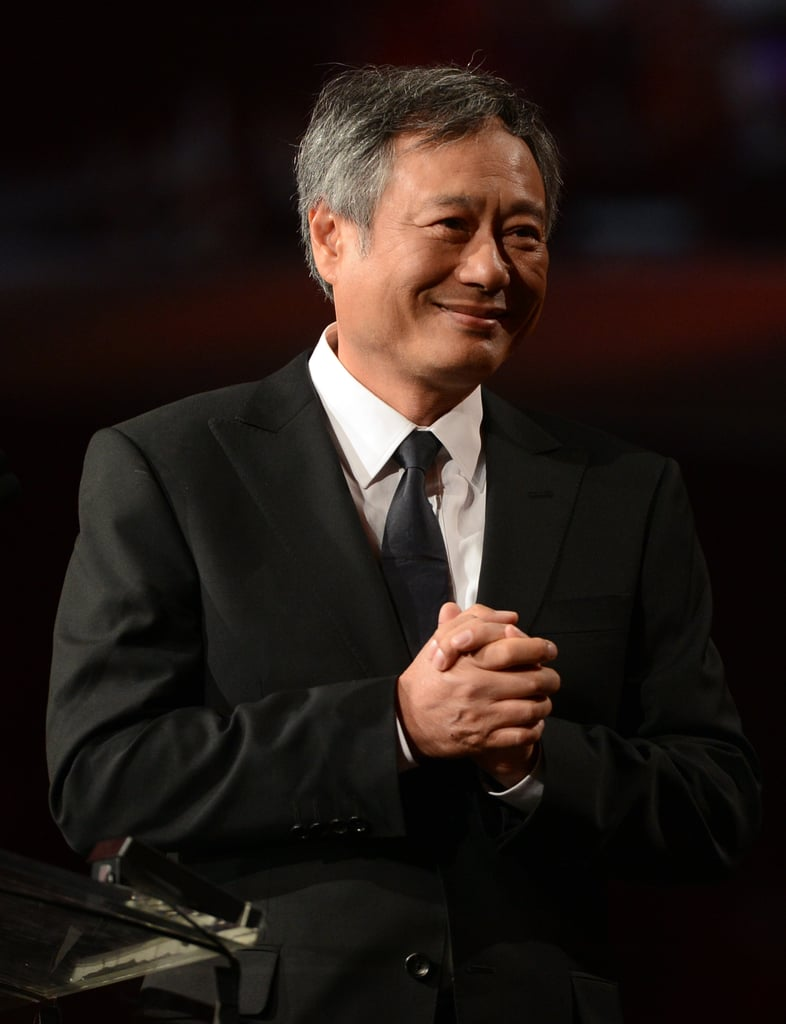 Ang Lee presented an award to his Life of Pi composer.