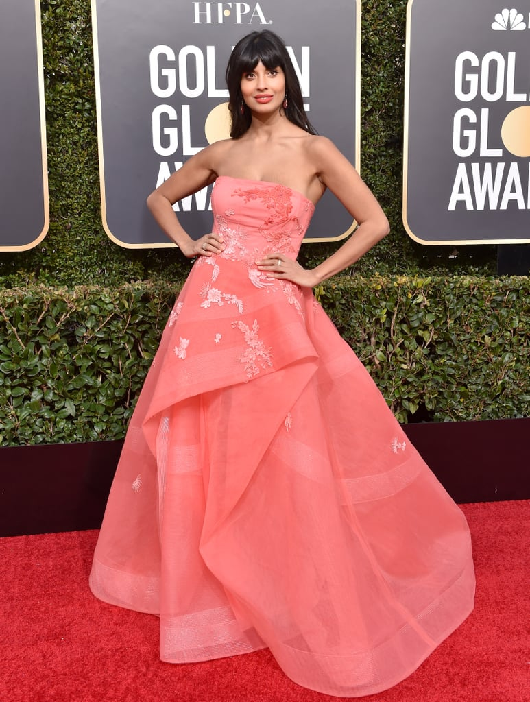 Jameela Jamil at Golden Globes