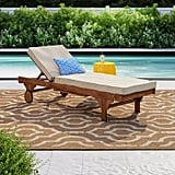 Sol 72 Outdoor Alvah Reclining Chaise Lounge With Cushion