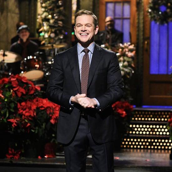 Matt Damon Saturday Night Live Skits December 2018