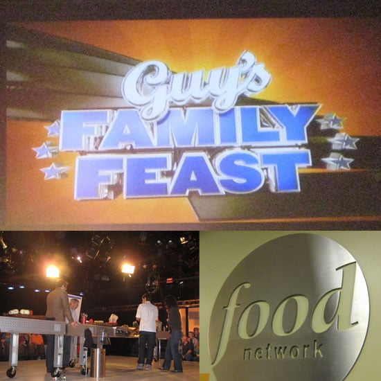 Live Taping Guy's Family Feast