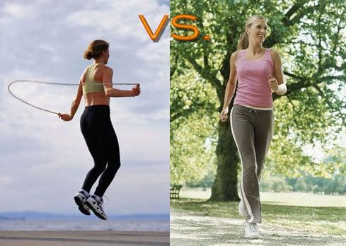 Jumping Rope vs. Jogging