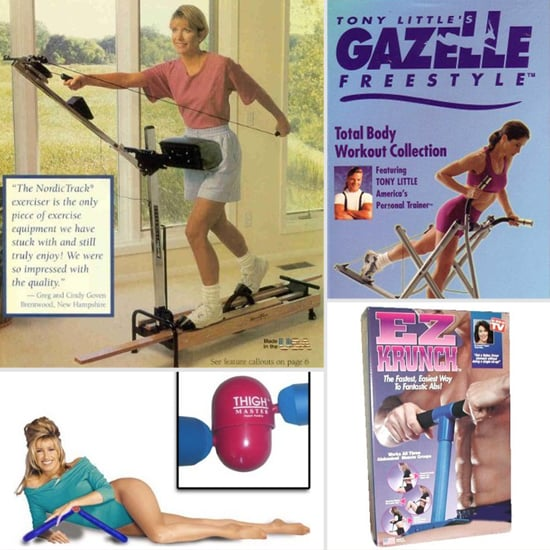 Old Fitness Equipment Fads