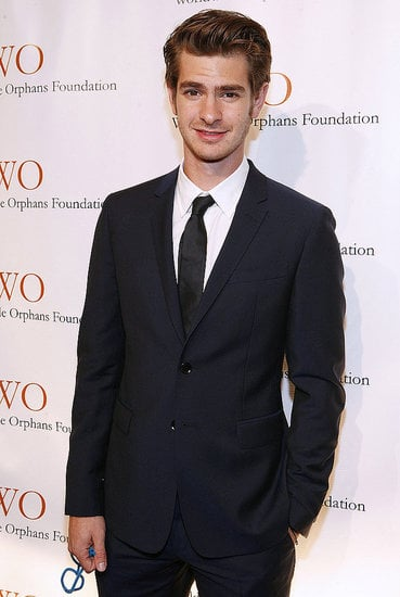 Andrew Garfield looked smart in a suit at the Worldwide Orphans Foundation's Seventh Annual Benefit Gala in NYC on Nov. 14.