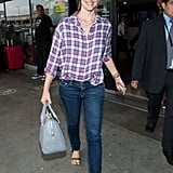 Jennifer Garner showed off some airport style in LA.