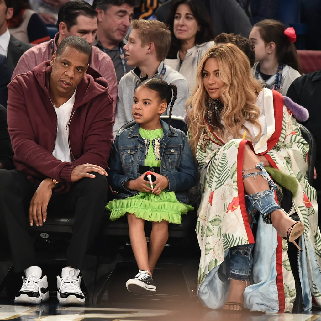 Celebrities Outfits At Basketball Games Popsugar Fashion