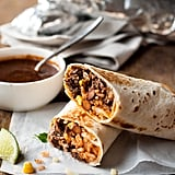 Shredded Mexican Beef Burrito