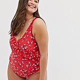 New Look Curve Wrap Swimsuit