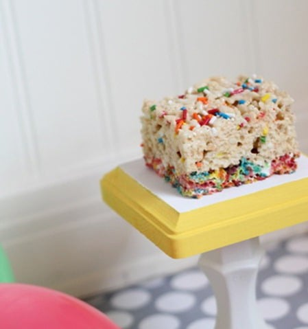 Sprinkle Rice Krispies Treats