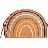 Madewell The Simple Half-Moon Rainbow Edition Leather Crossbody Bag
