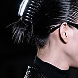 Chrome Banana Clips at Alexander Wang