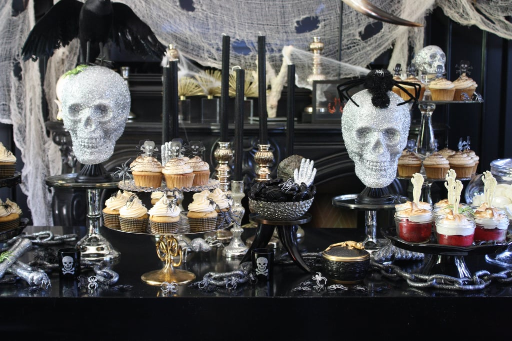 halloween dessert table halloween party ideas popsugar smart living photo 4. Black Bedroom Furniture Sets. Home Design Ideas