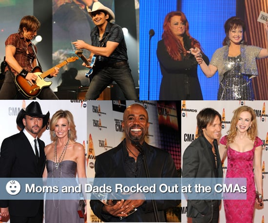 Famous Moms and Dads Hit the Red Carpet at the CMA Awards
