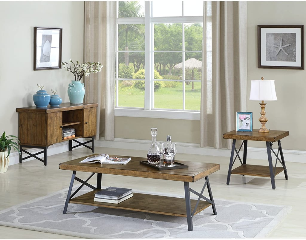 For a Rustic Decor Piece: Emerald Home Chandler Coffee Table