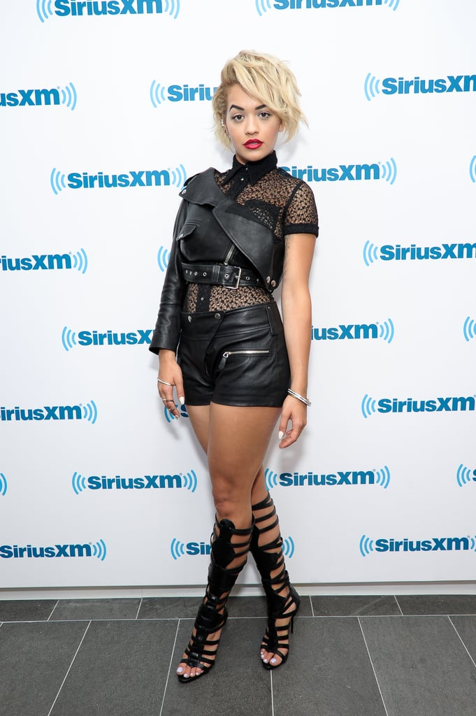Rita Ora at SiriusXM Studios