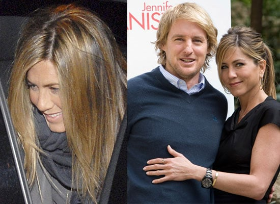 Photos of Jennifer Aniston and Owen Wilson in Rome For Marley And Me