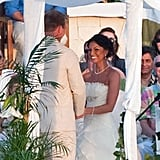 The Bachelor's Melissa Rycroft wed Tye Strickland in Mexico in December 2009.