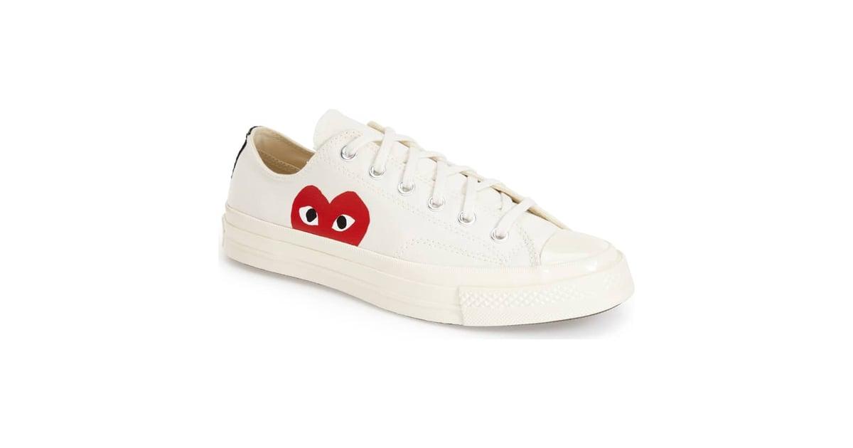 4a58c833c185 Comme des Garçons Play x Converse Chuck Taylor Hidden Heart Low Top Sneaker