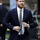 Prince Harry Visits King's College London March 2019