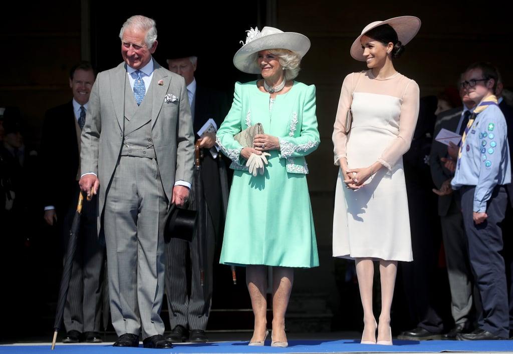 Meghan's First Buckingham Palace Garden Party