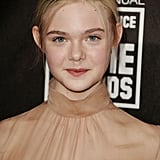 Adorable Elle Fanning Arrives at the Critics' Choice Awards