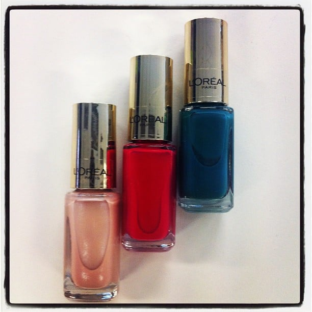 We loved the new colours that came in from L'Oreal. Can never have too many polishes, ever.