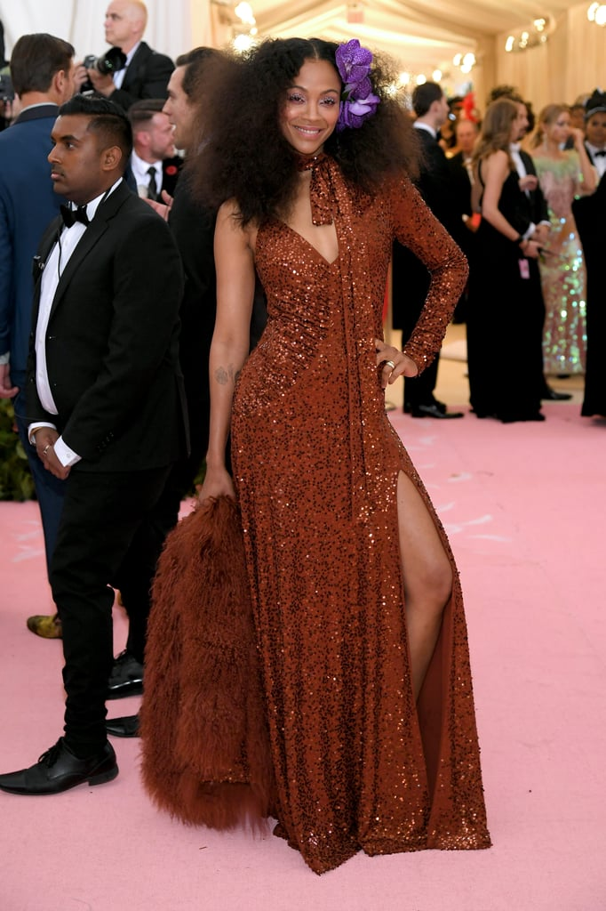 Zoe Saldana at Met Gala 2019 | POPSUGAR Fashion Photo 6