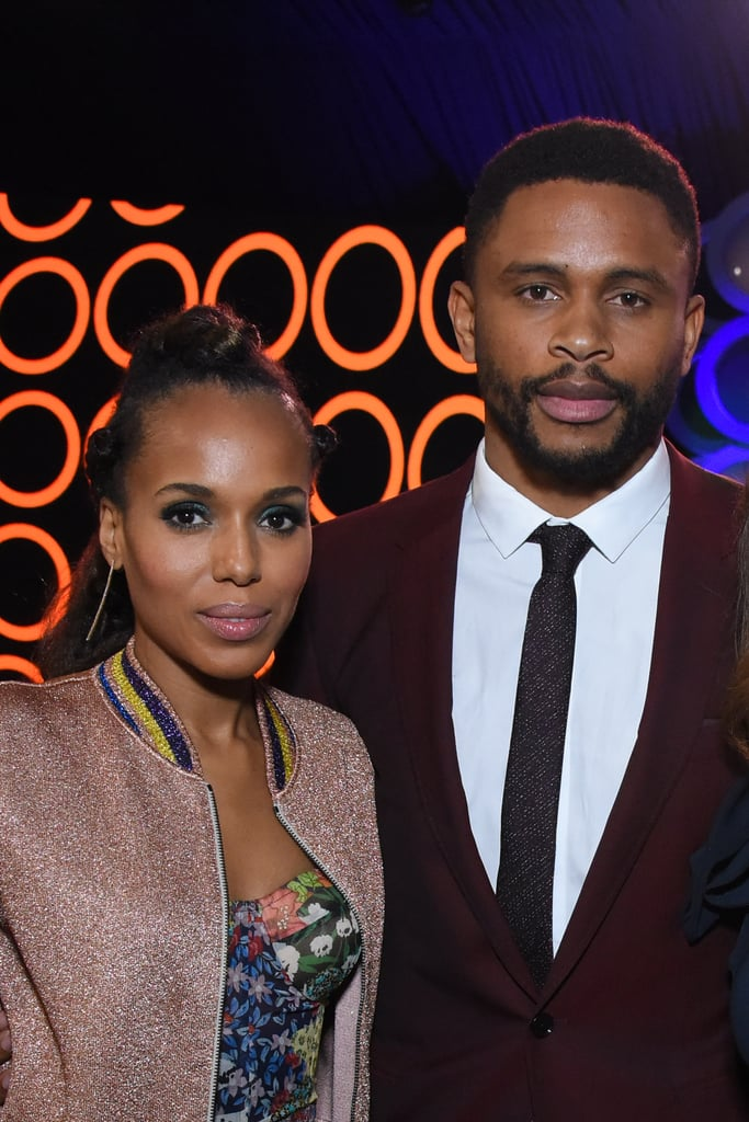 Kerry Washington and Nnamdi Asomugha the 2018 Spirit Awards