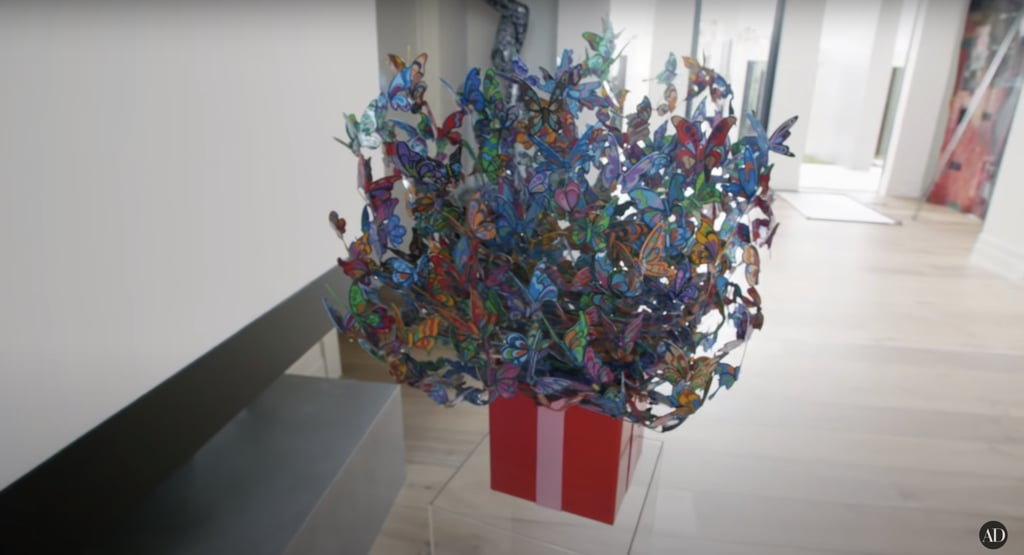 Like this intricate butterfly display!