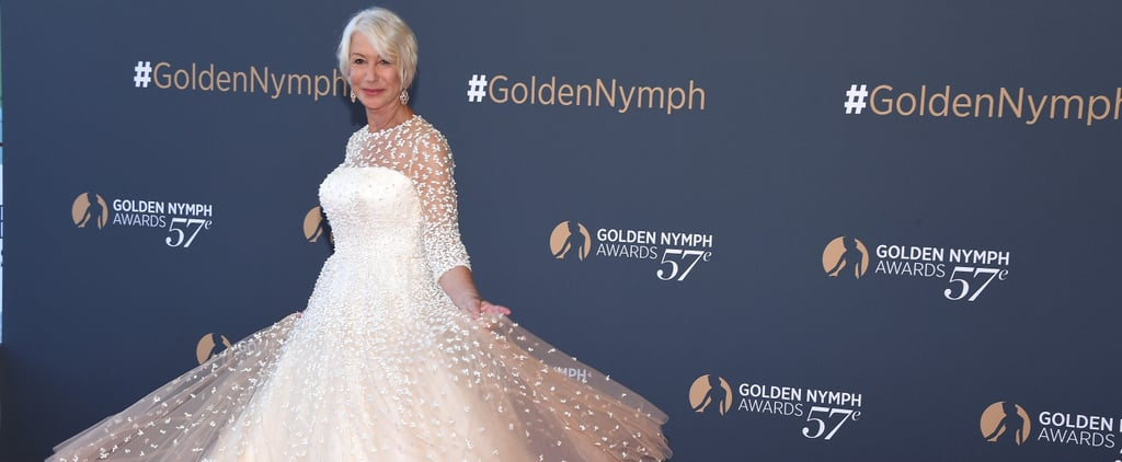 All the Dresses Helen Mirren Wears Have 1 Thing in Common
