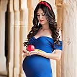 Disney Princess Maternity Photos