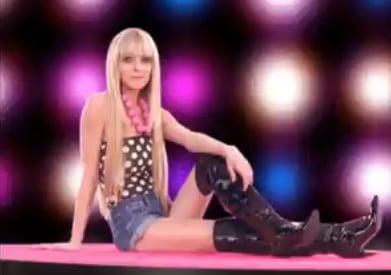 Lindsay Lohan in Italian Ad for Fornarina