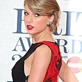 Taylor Swift's Folded Updo