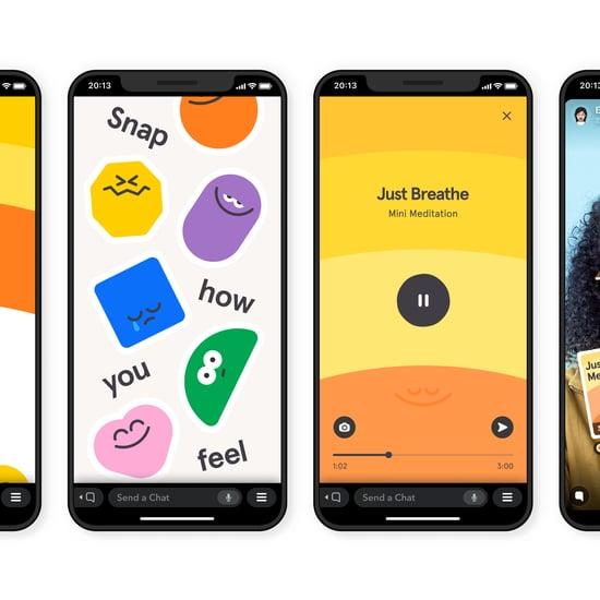 Headspace Mini Meditations on Snapchat