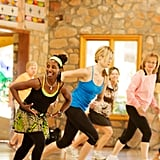 If that weren't enough, expect to see unique offerings like African dance, tennis, boxing, Feldenkrais, aqua exercise, and cardio drumming. Five different classes are offered every hour from morning until early evening; take as many — or as few — as you want.       Related:                                                                                                           How I Beat Jet Lag After Crossing 9 Time Zones and Traveling 12 Hours