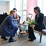 Prince Harry's Promise With Girl at 2018 WellChild Awards