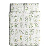 Ikea Strandkrypa Duvet Cover and Pillowcases, Full/Queen
