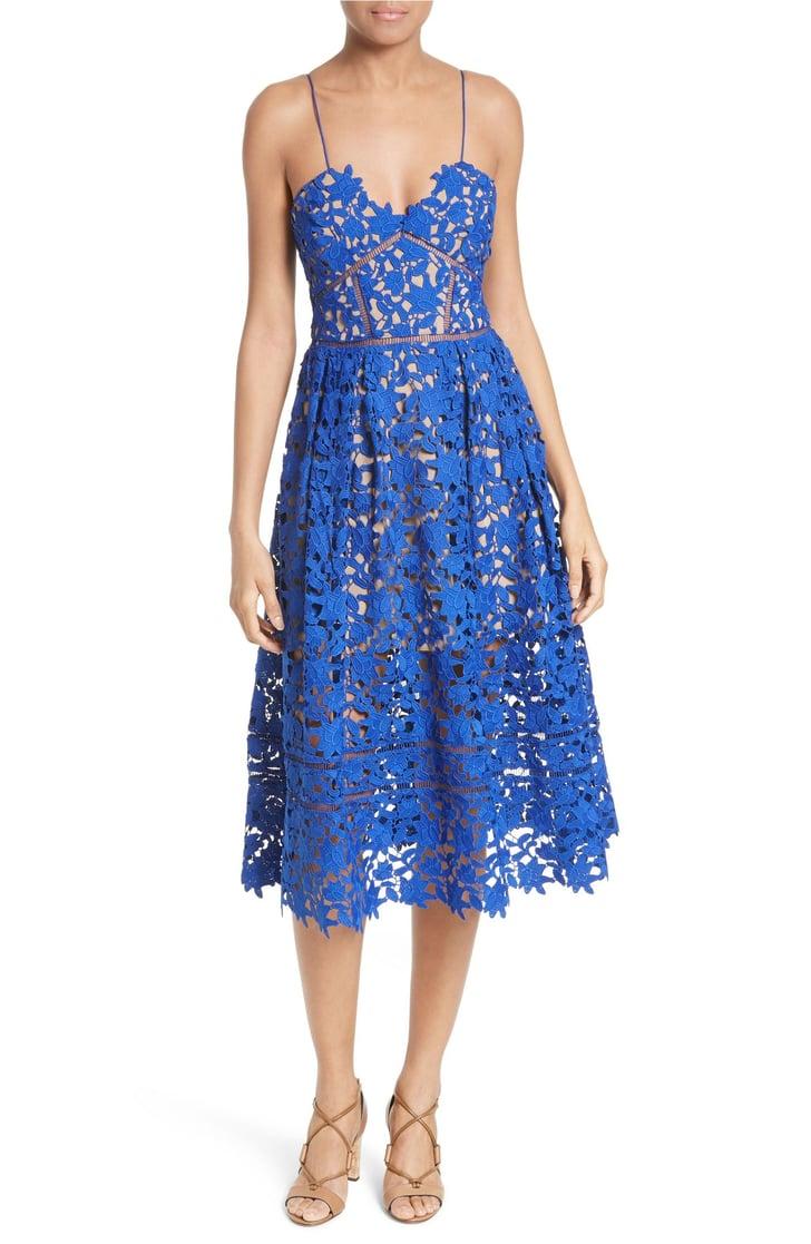 Electric Blue Wedding Guest Dresses : Best wedding guest dresses for spring and summer popsugar fashion