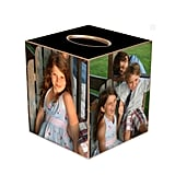 No room for frames? Use your favorite pictures of family and friends to customize the Photo Tissue Box Cover ($56).