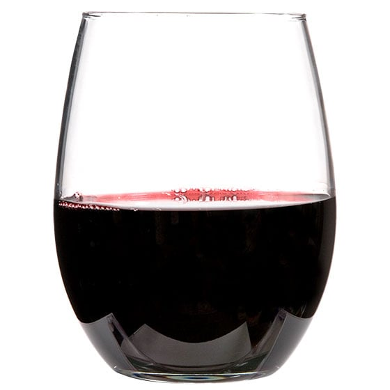 Luminarc Stemless Glass Wine Glass ($1 each)